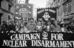 Nuclear Disarmament Protest London1983